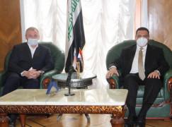 Встреча с Чрезвычайным и Полномочным Послом Республики Ирак в России Абдулрахманом Хамидом Аль-Хуссайни